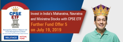 Opportunity to invest in 10 Blue chip companies through CPSE ETF