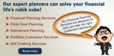 Our financial planners will solve your rubik cube